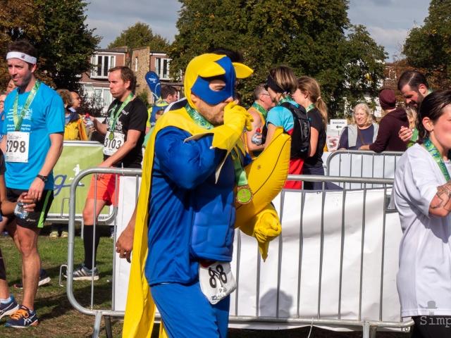 Ealing Half Marathon 2018 - Banana Man