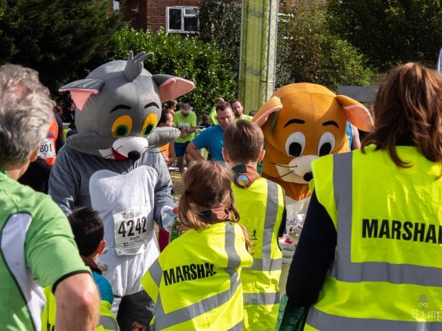 Ealing Half Marathon 2018 - Tom and Jerry