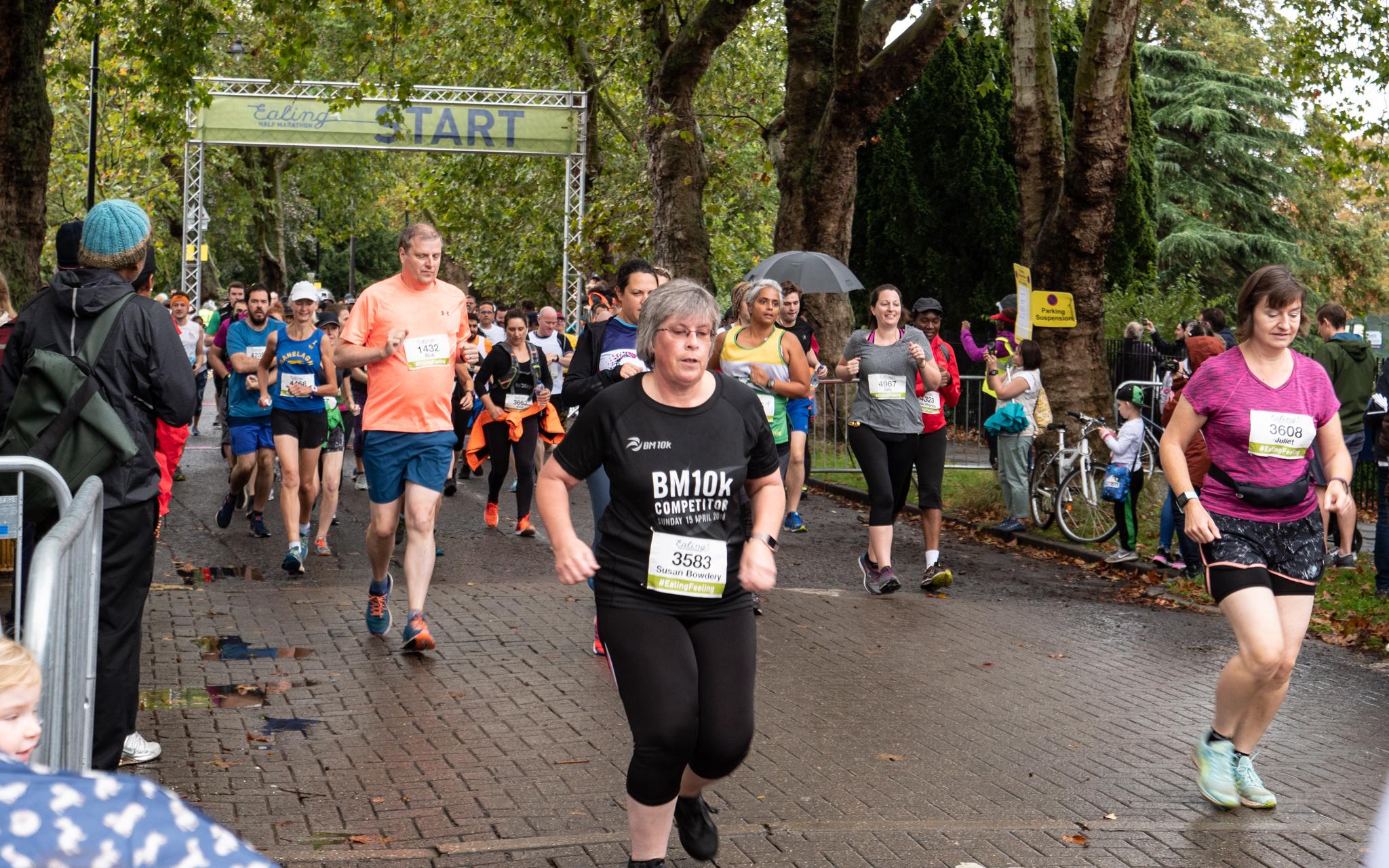 Ealing Half Marathon 2019