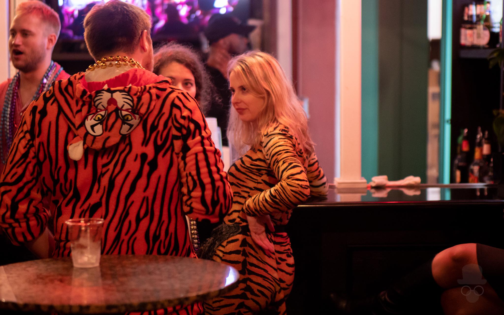 New Orleans Mardi Gras 2019 - Cat Woman