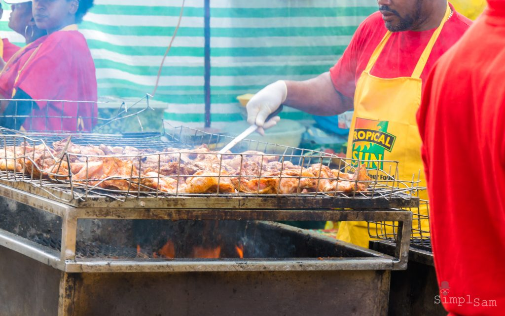 Notting Hill Carnival 2016 - Jerk Station