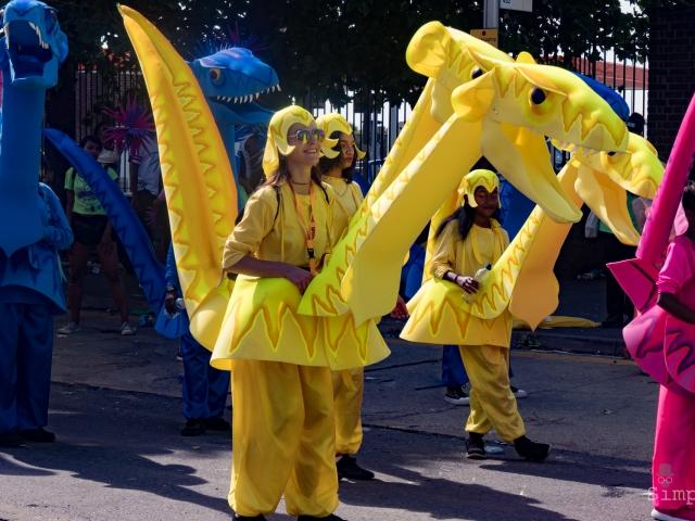Notting Hill Carnival 2017 - Dragons