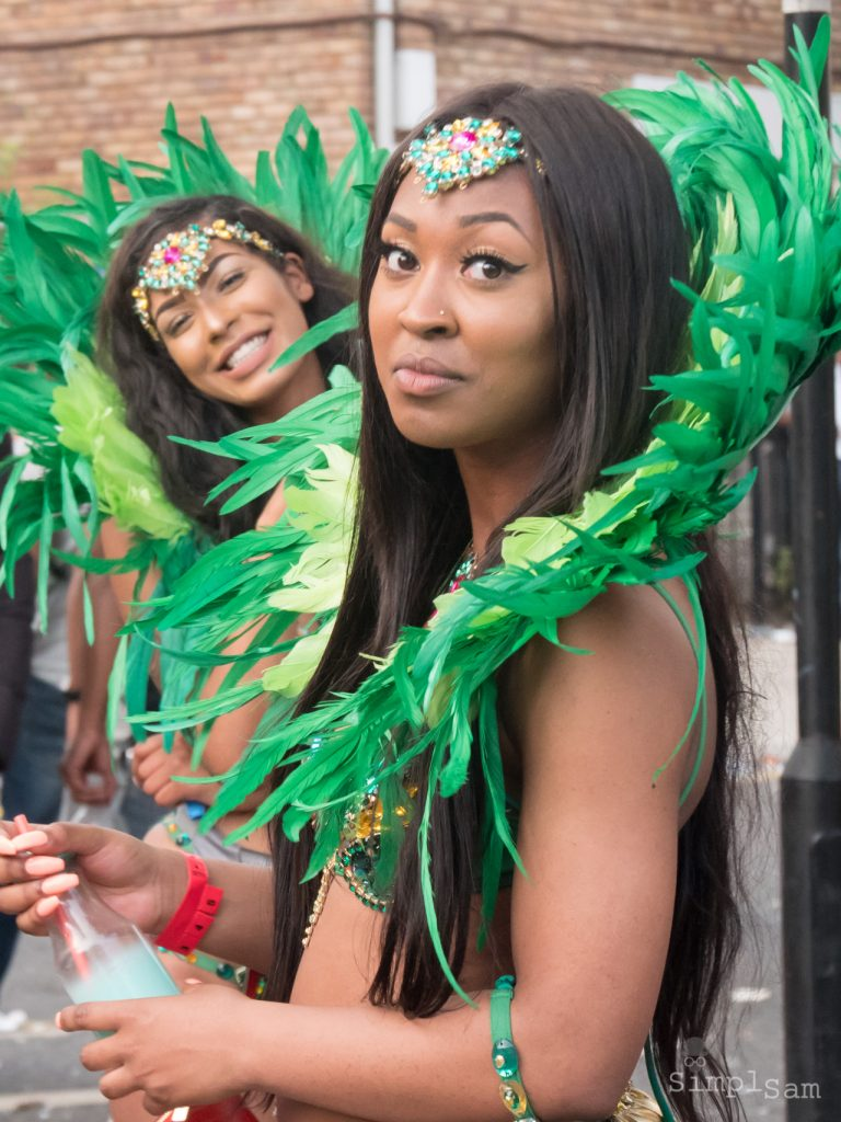 Notting Hill Carnival 2019 (from 2017) - Green Hearts