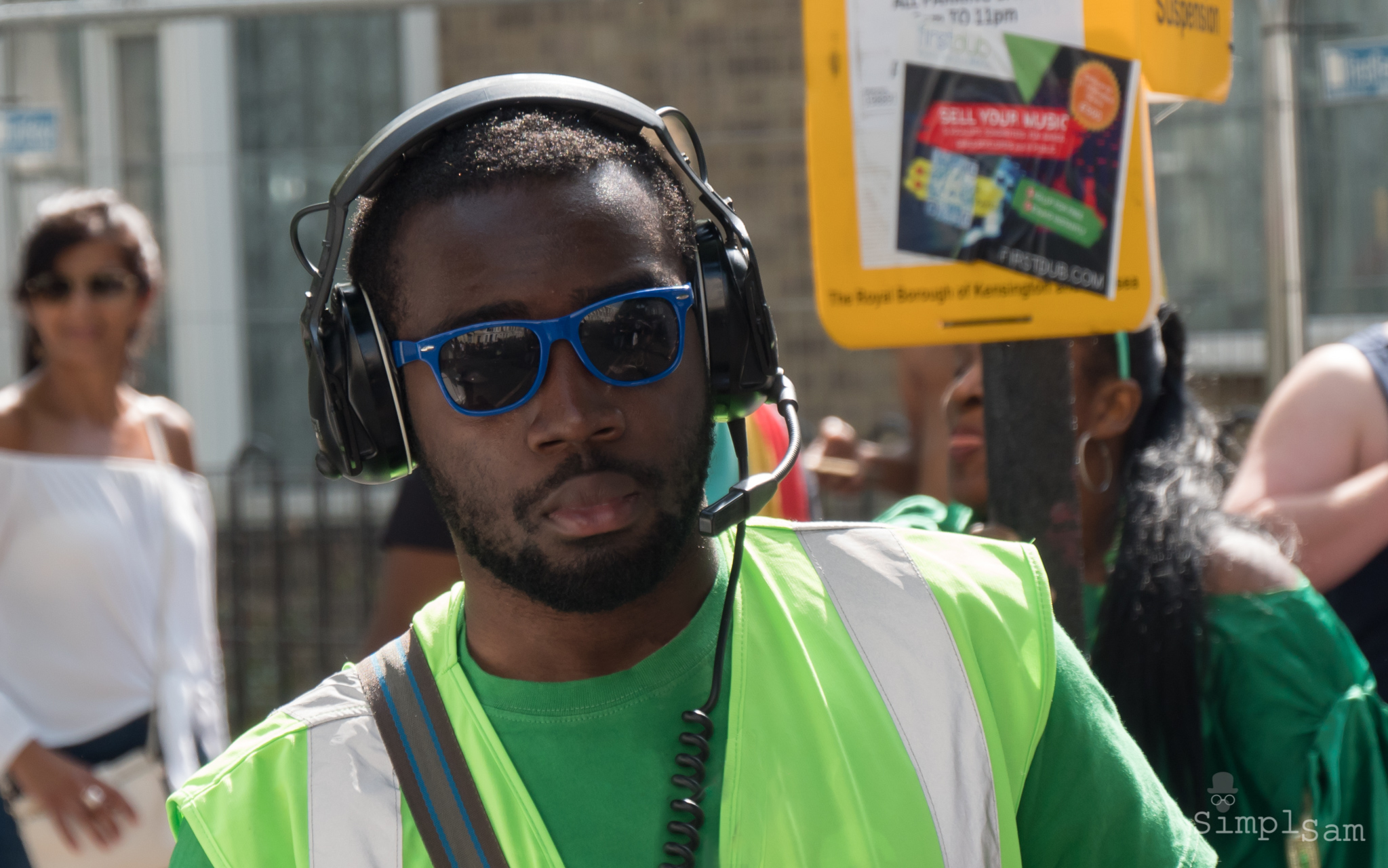 Notting Hill Carnival 2017 - Headphone zone