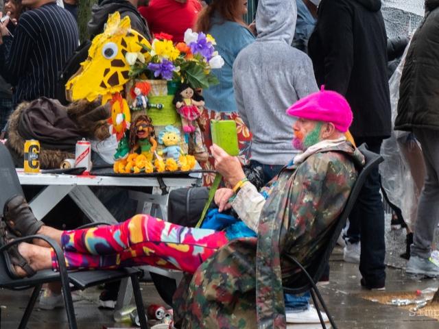 Notting Hill Carnival 2018 - Cuddly Ken
