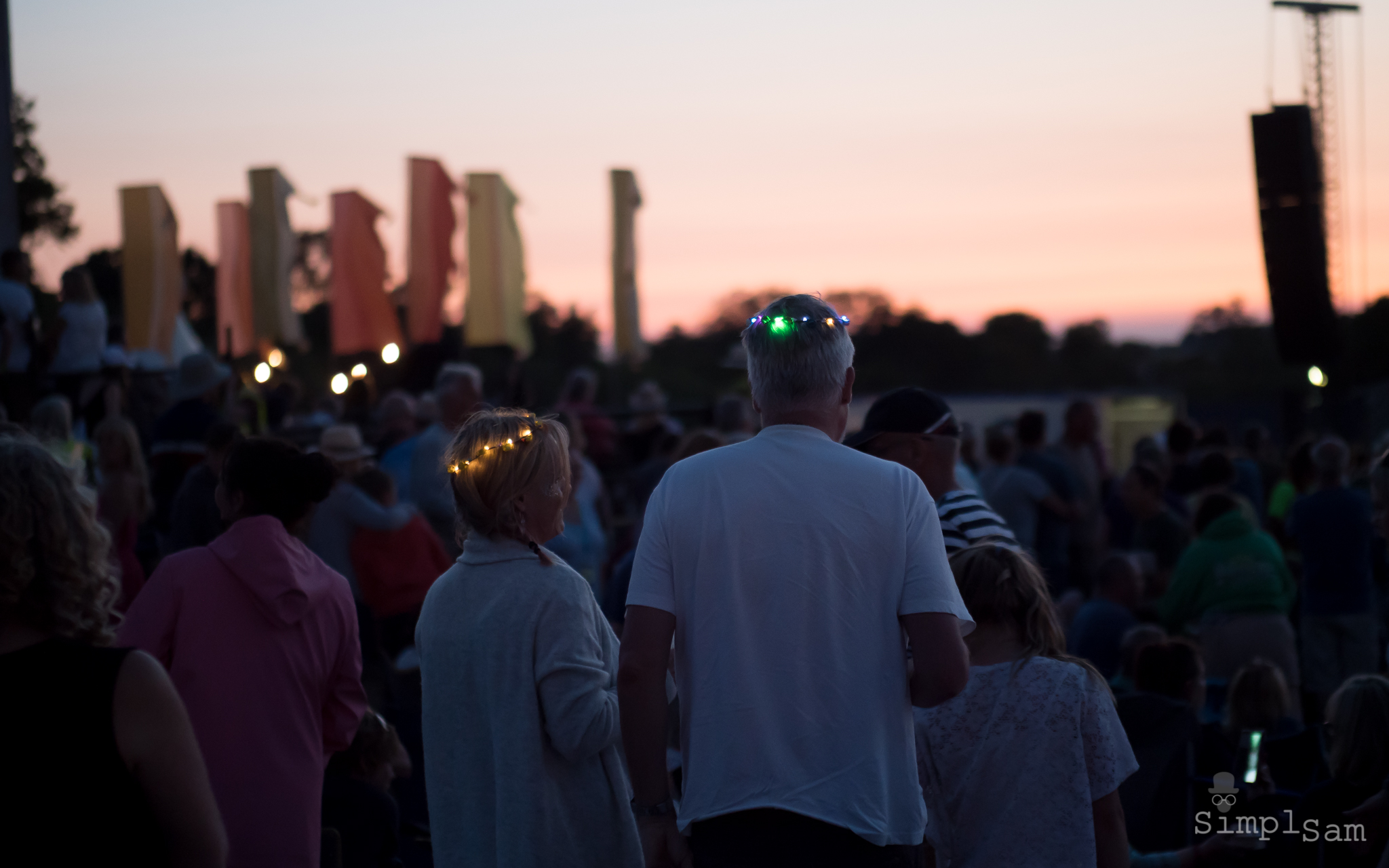 Cornbury Music Festival 2018 - Sunset