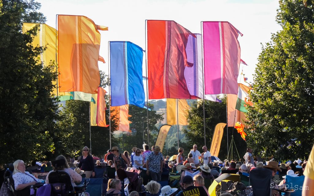 Cornbury 2018 - Flags