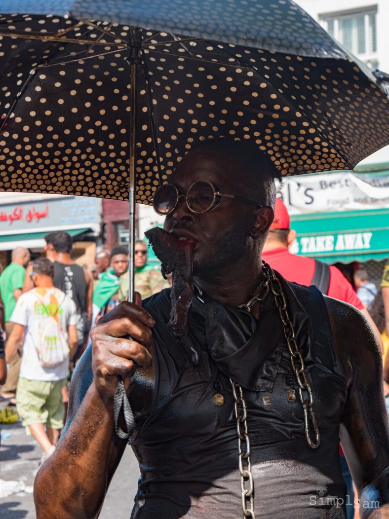 "Notting Hill Carnival 2017 - Hungry ""Jab Jab"" Man"