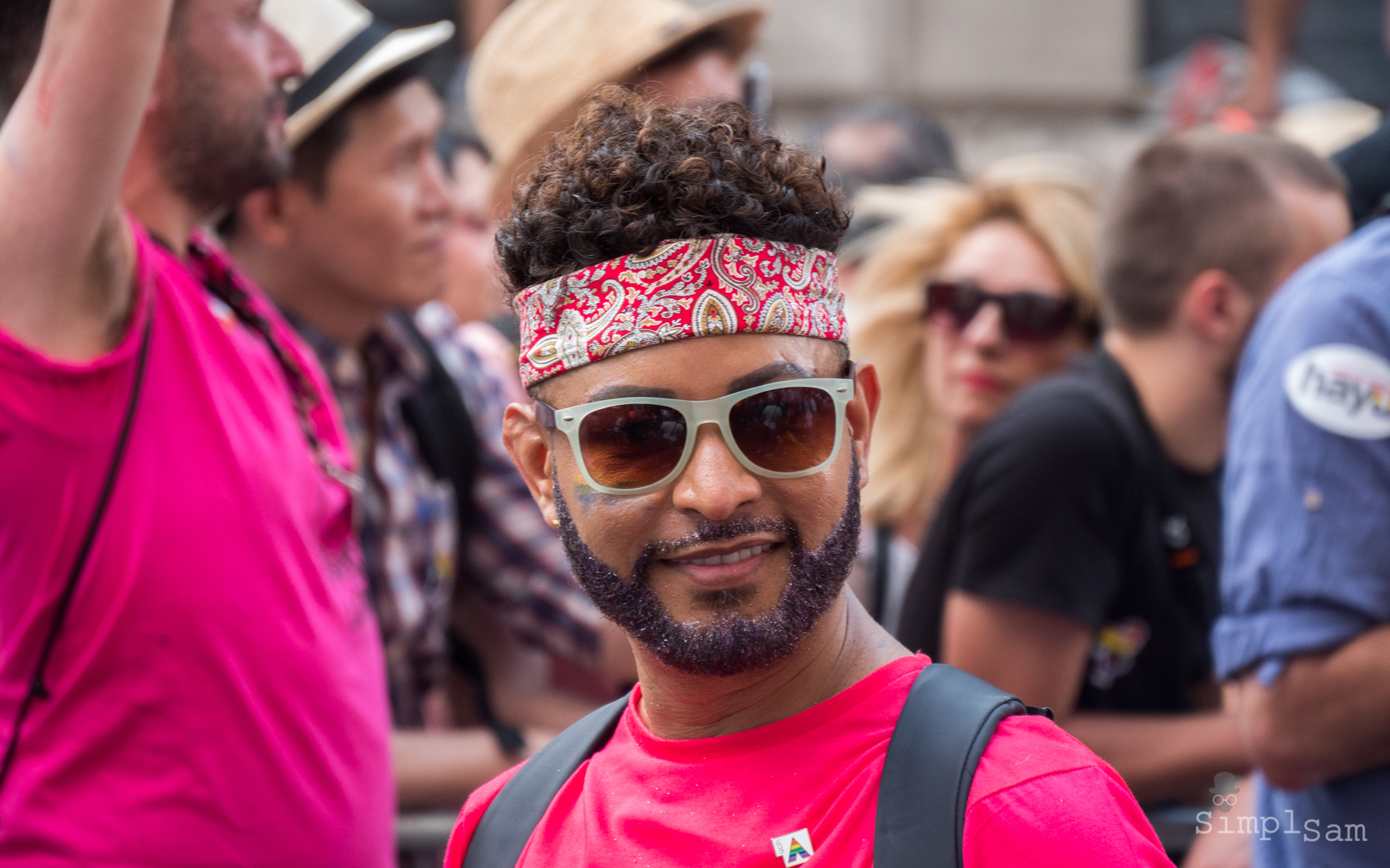Pride London 2018 - Bandana Mana