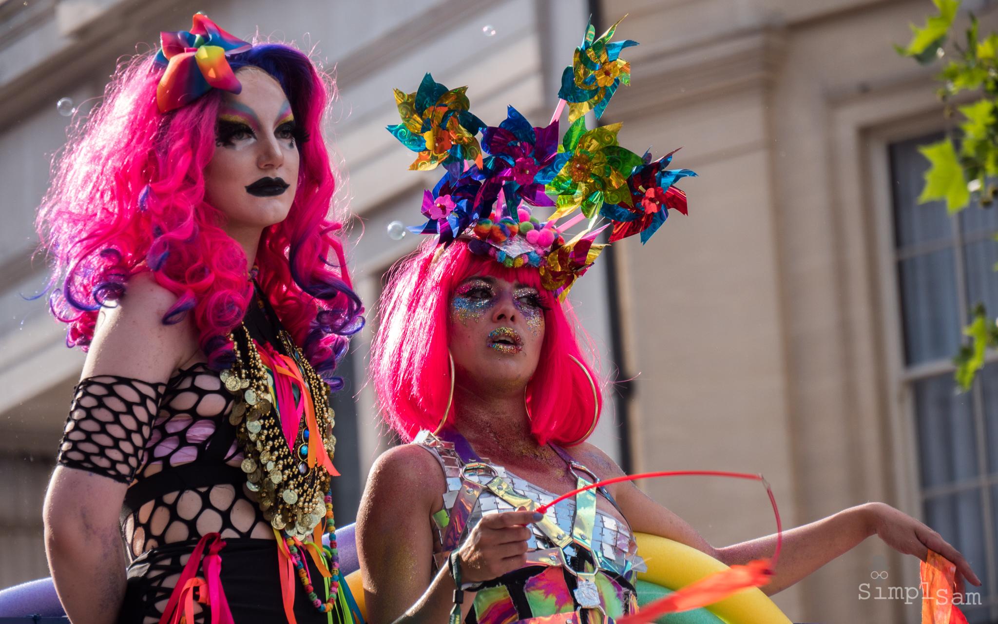 Pride London 2018 - Glitter & Glitz