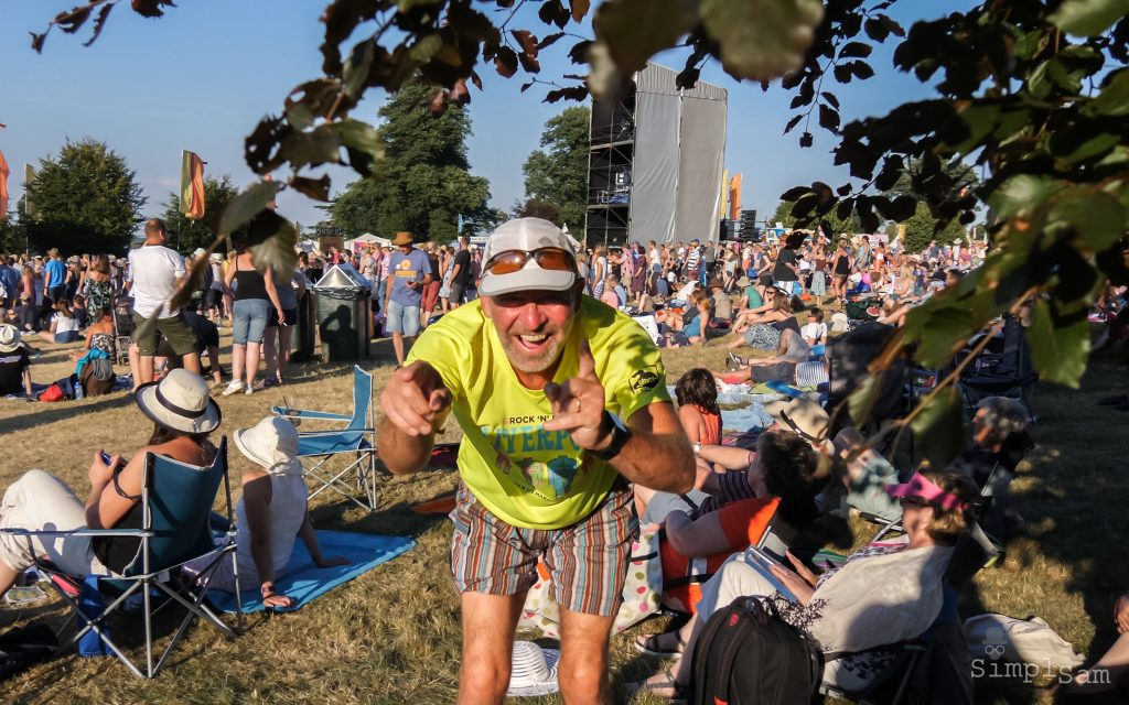 Cornbury 2018 - The Happy Camper