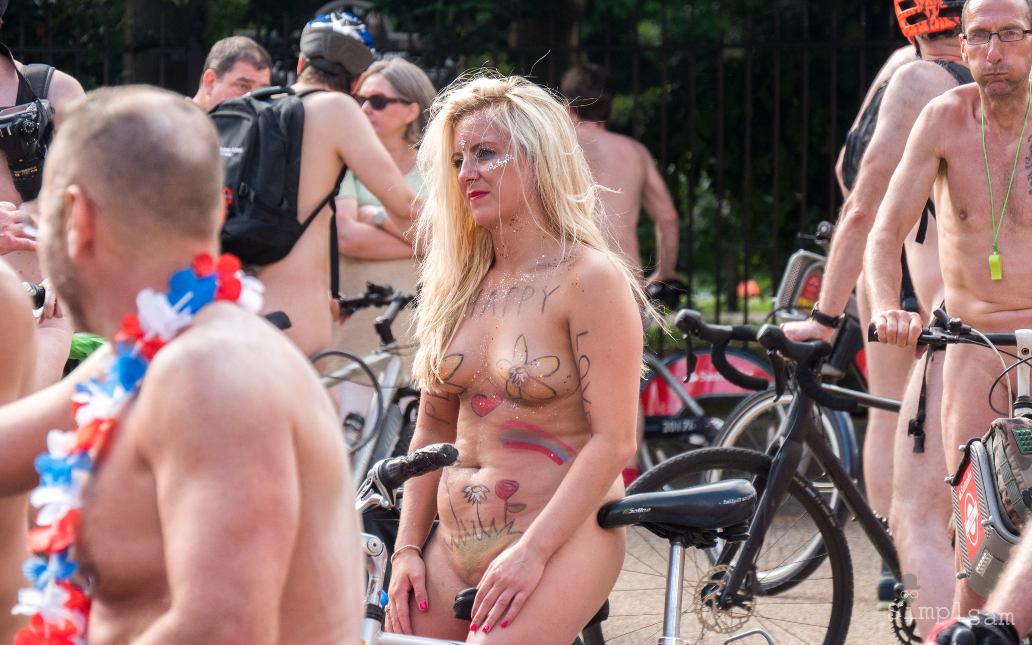 WNBR 2017 - Happy Flowers