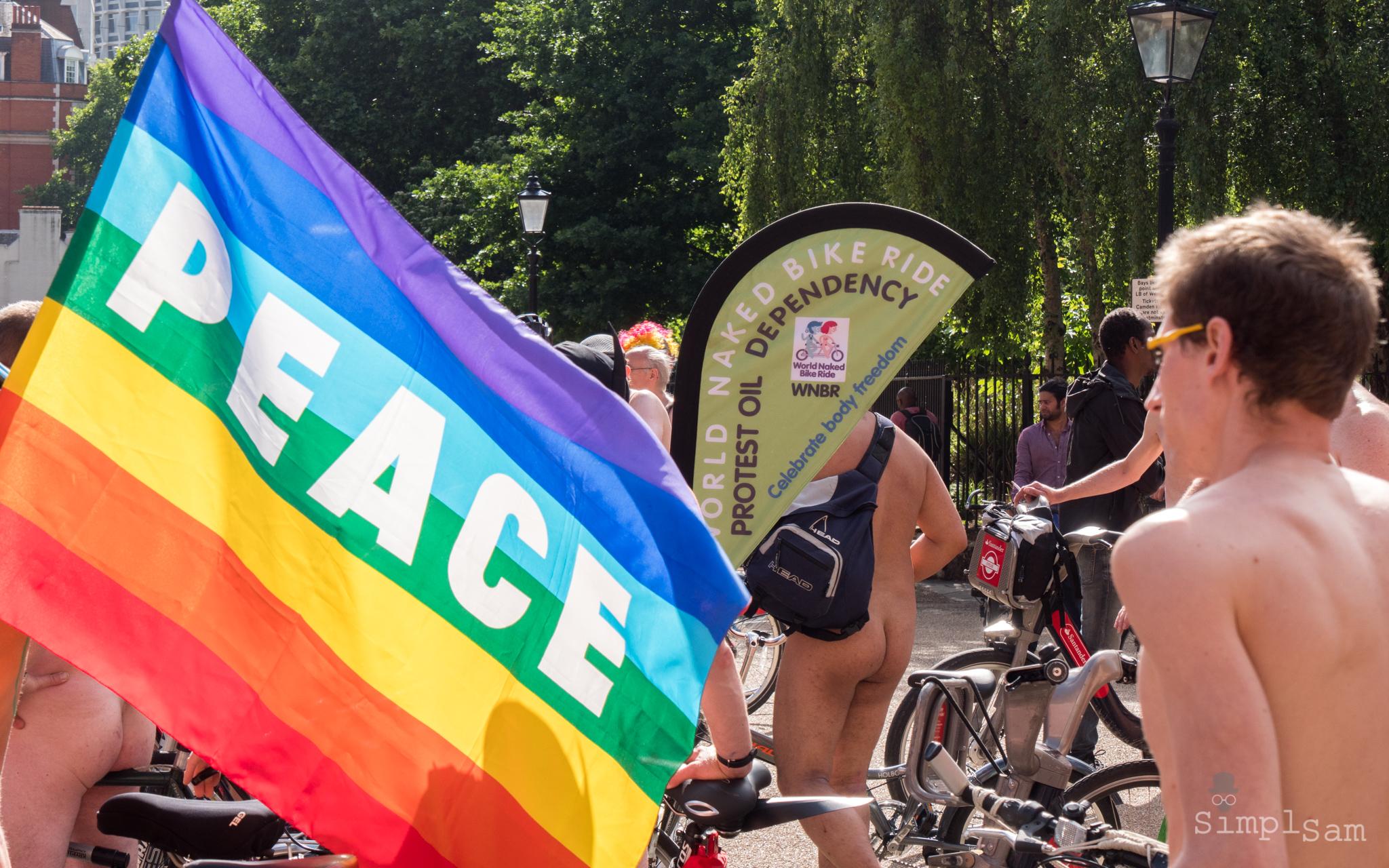 WNBR 2017 - Peace Flag