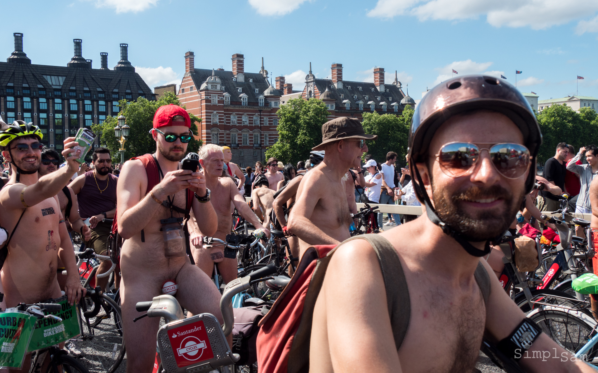 WNBR 2017 - Westminster Bridge