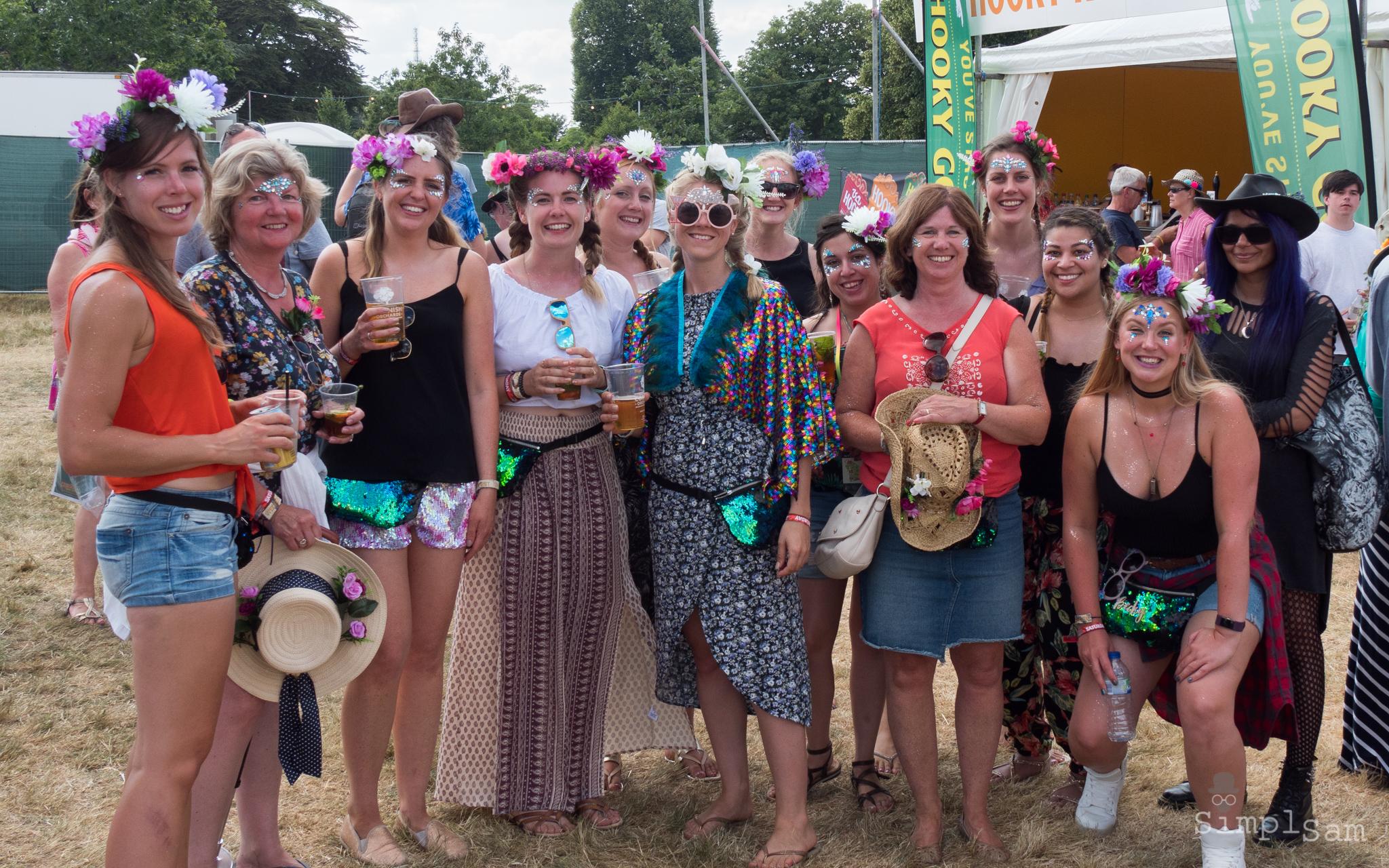 Cornbury Music Festival 2018 - Hen Party