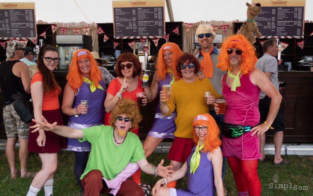 Cornbury 2018 - Scooby Doo's