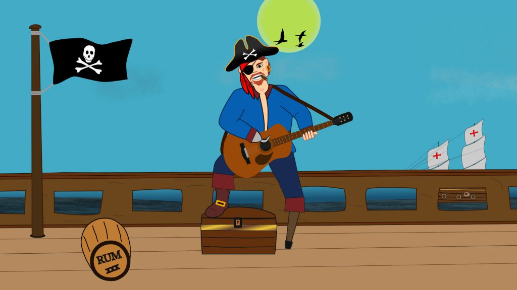 Jolly Roger - 2D Animation