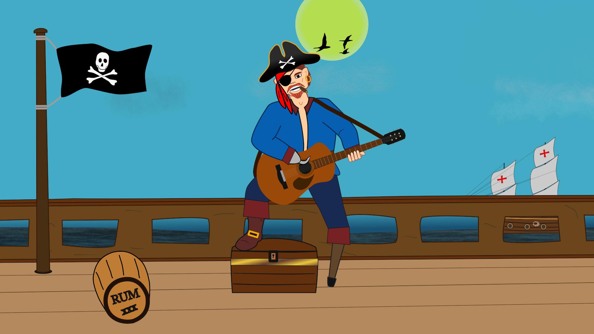 Jolly Roger animation