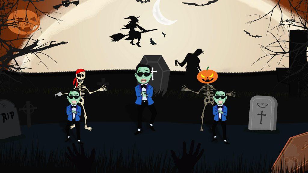 Gangnam Style Halloween