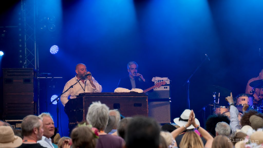 Cornbury 2018 - James Taylor Quartet