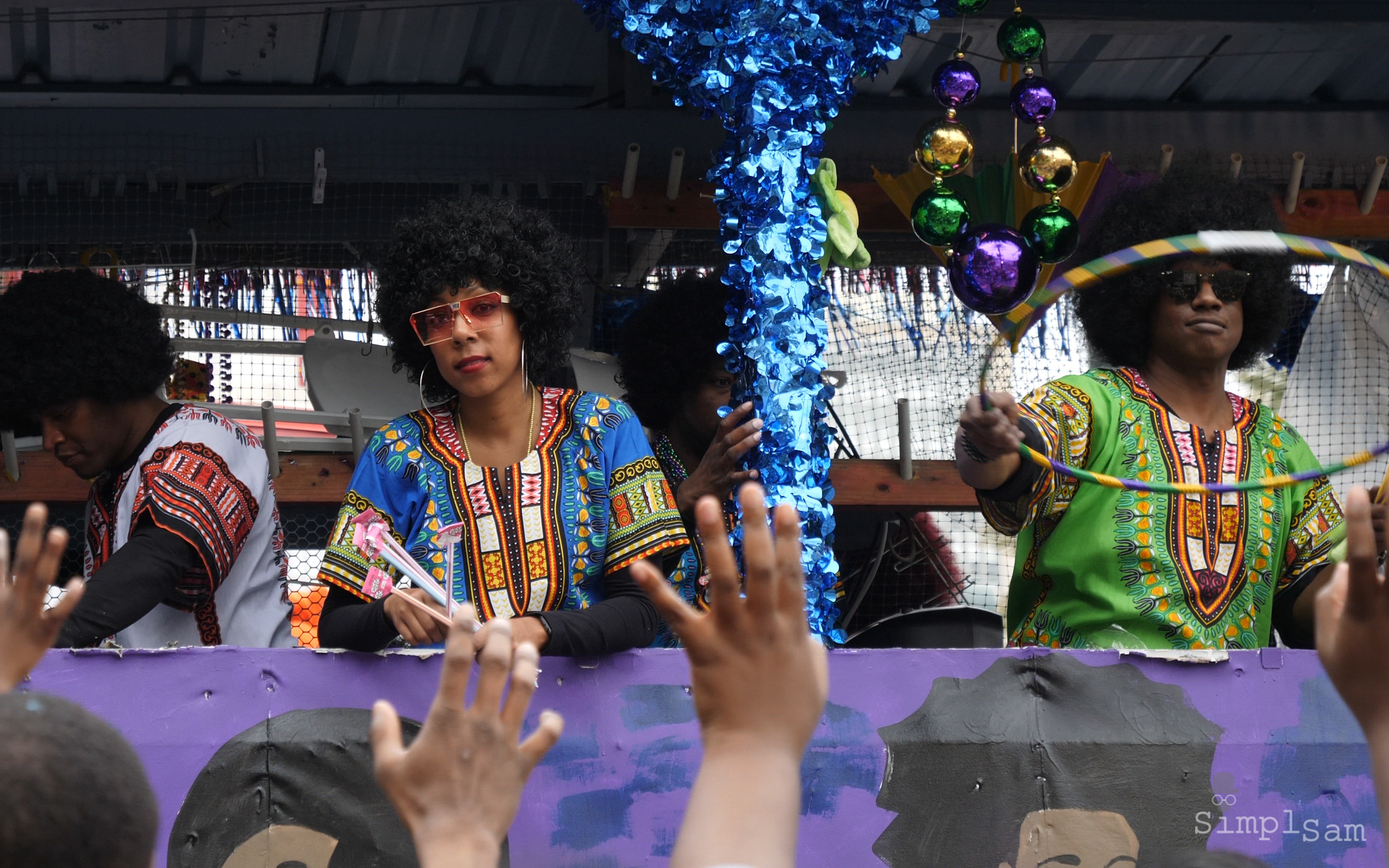 New Orleans Mardi Gras 2018 - Carnival Queen