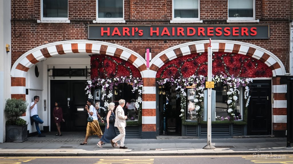 Hari's Hairdresser - Chelsea in Bloom