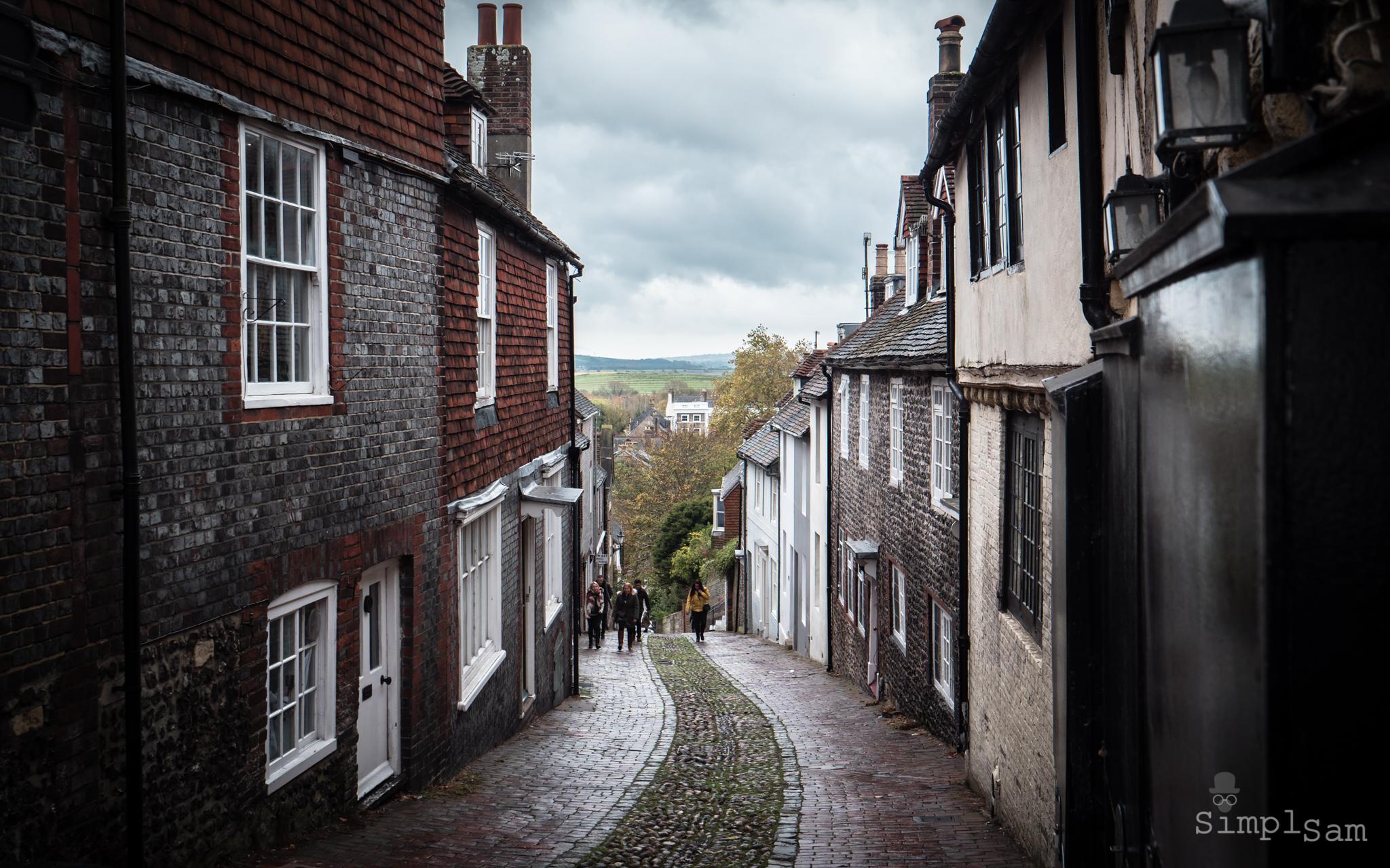 Lewes Bonefire 2017 - Cobbled Streets