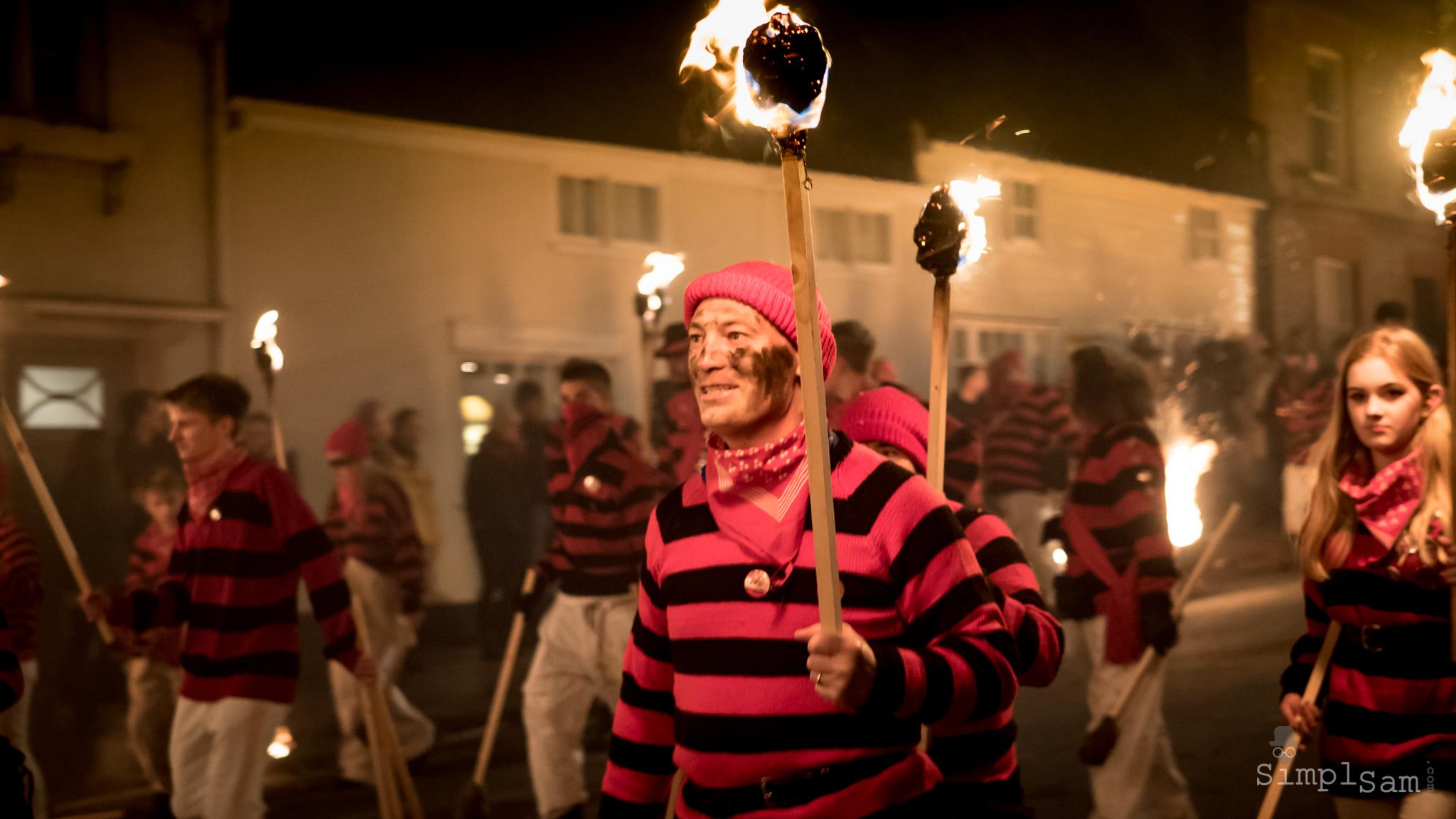 Lewes Bonfire 2017 - Torches