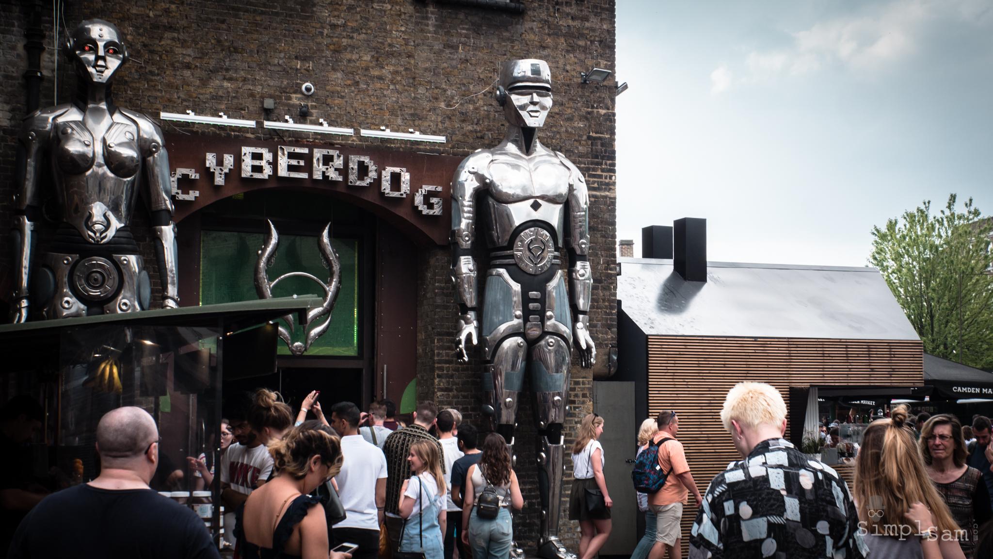 Camden Lock - Cyberdog